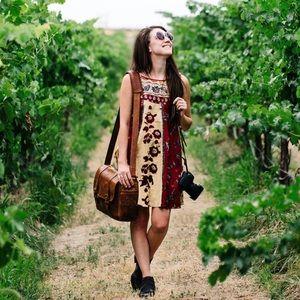 FREE PEOPLE Russian Circles Boho Dress